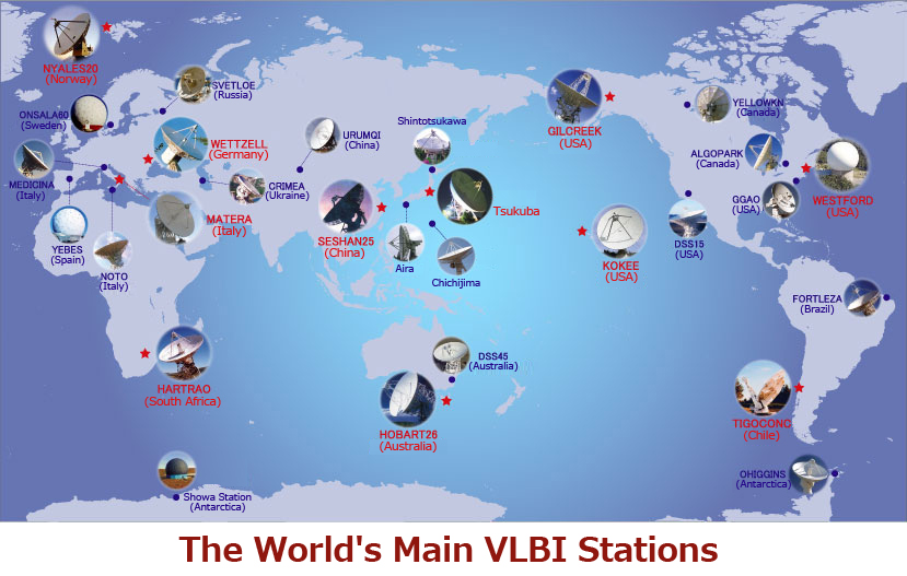 International Sharing of Extra-Large Volumes of Data from VLBI Observations